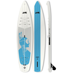 Indiana SUP 11'6 Touring Inflatable SUP Pack Premium with 3-Piece Carbon Paddle Women